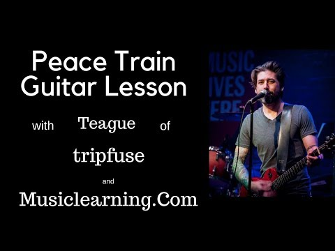 Peace Train Guitar Lesson (Intro)