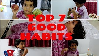 Top 7 Good Habits for Kids in the Morning || List of Healthy Habits for Successful Life
