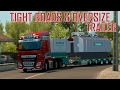 ETS2 OVERSIZE LOAD part 2 (Euro Truck Simulator 2)