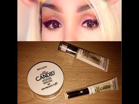 Revlon Candid Photoready Foundation, concealer and setting powder