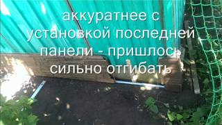 Монтаж сайдинга своими руками (дачный домик)(, 2015-09-10T14:10:06.000Z)