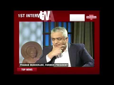 Pranab Mukherjee's First Interview After Presidency