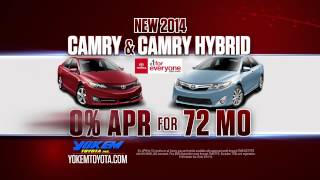 Yokem Toyota - #1 For Everyone Camry Specials - March 2014 Shreveport, LA