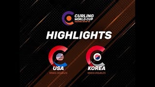 United States v Korea - Mixed Doubles - Highlights - Curling World Cup First Leg – Suzhou