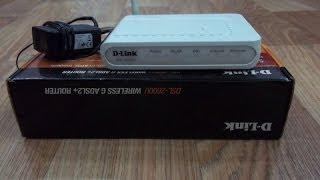 Як налаштувати модем ? ( роутер ) wifi D-Link DSL-2600U Укртелеком