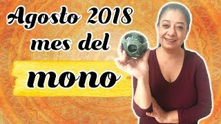 AGOSTO 2018 MES DEL MONO ¡ACTIVA LA ENERGÍA A TU FAVOR!   Mónica Koppel