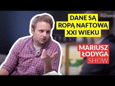 """Maciej Lewiński """"Mówi się, że dane są ropą naftową XXI wieku"""""""