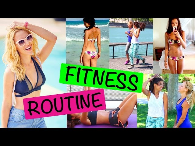 Fitness Routine - Weekly Schedule
