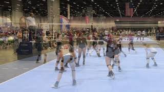 Laynee Dew 2020 OH/RS Volleyball Highlights from AAU Nationals in Orlando