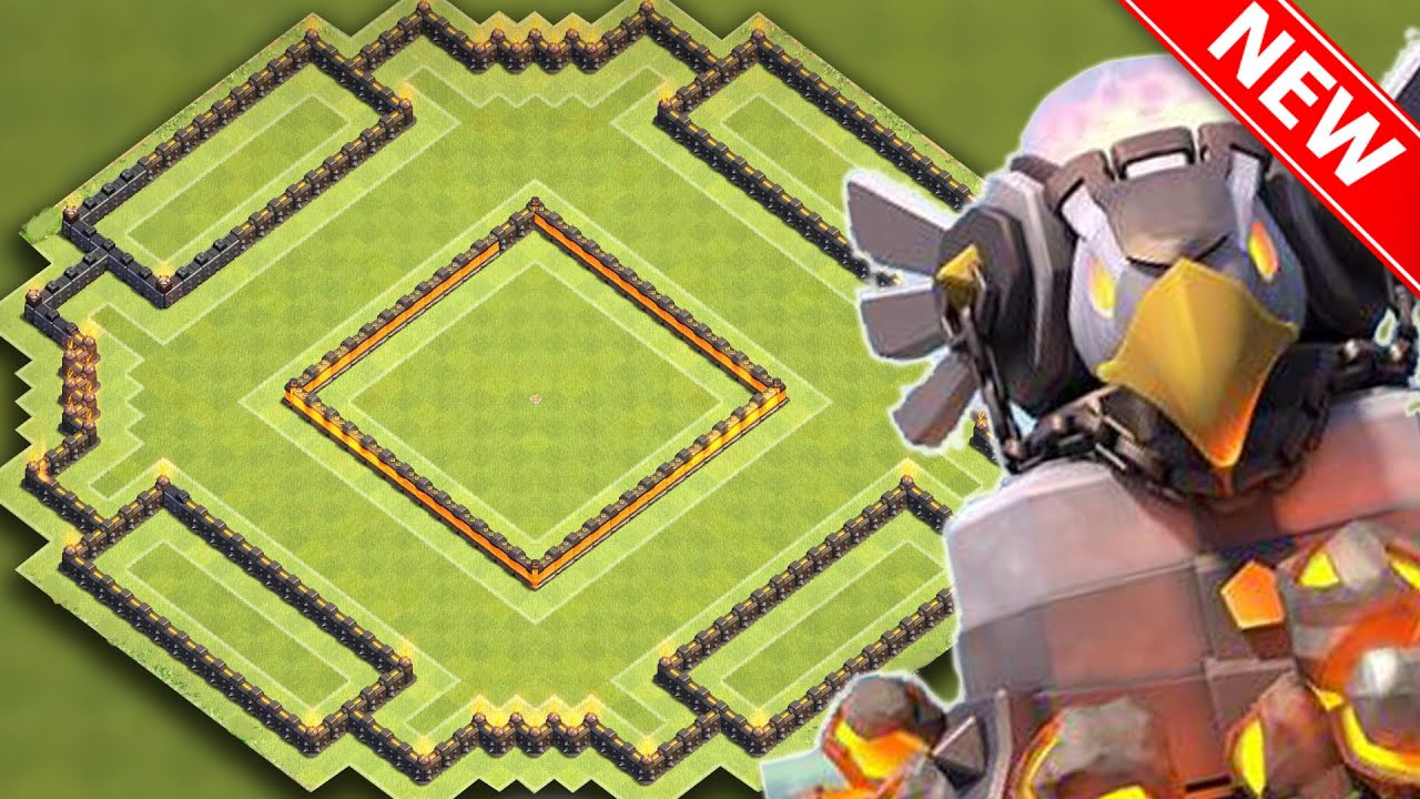 Clash of clans new best th11 town hall 11 trophy base w eagle