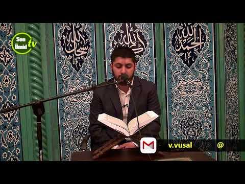 Hacı Rahib Quran Gecəsi Hacı Cavad Məscidi 2018