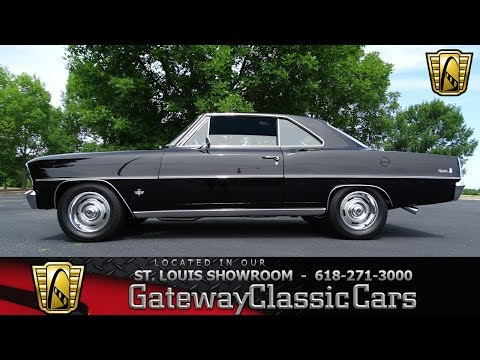 #7366 1966 Chervolet Nova - Gateway Classic Cars of St. Louis