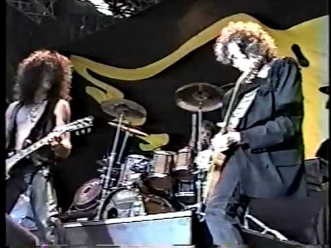 Aerosmith/Jimmy Page - Train Kept A Rollin' - Donington 1990 (SBD)
