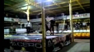 Lucha Callejera Demonio Negro,ivis Guajardo Jr & King Balam E Imapcto...