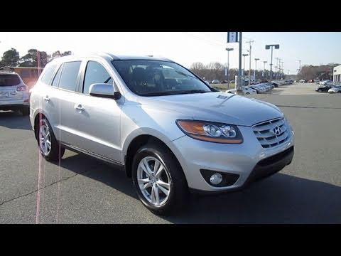 2011 Hyundai Santa Fe Limited Start Up Engine And In