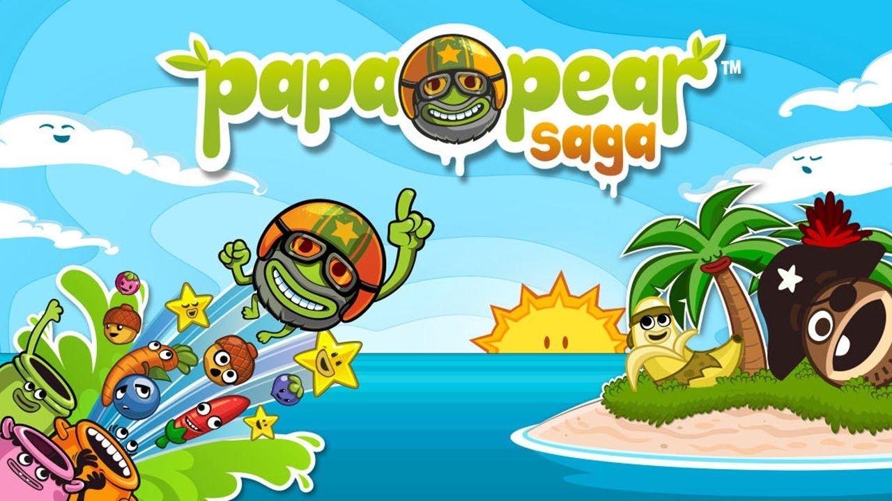 نتيجة بحث الصور عن Papa Pear Saga
