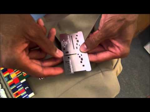 Navy Uniform Tool. How To Use The Pin IT Card With The Navy Uniform. Http://pinitcard.com Medals