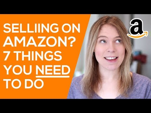 7 Things You Need to Do BEFORE Launching on Amazon (and selling with Amazon FBA)