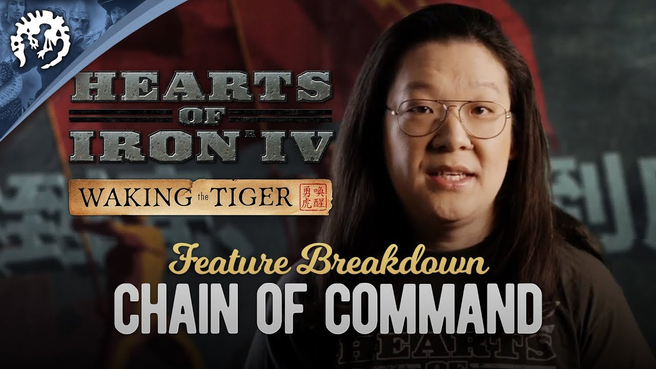 HOI4: Waking the Tiger Feature Breakdown #3 - Chain of Command
