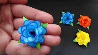 Rosen basteln mit Papier - Kleine Blumen als DIY Deko & Geschenk 🌹 Origami Bastelideen