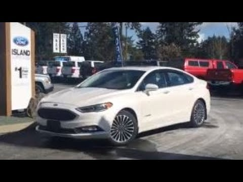 2018 Ford Fusion Hybrid Platinum Review Island Ford
