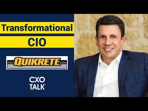 CIO: The Transformational Chief Information Officer (CxOTalk #335)