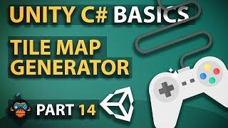 c unity3d tutorial series 14 tile map generator