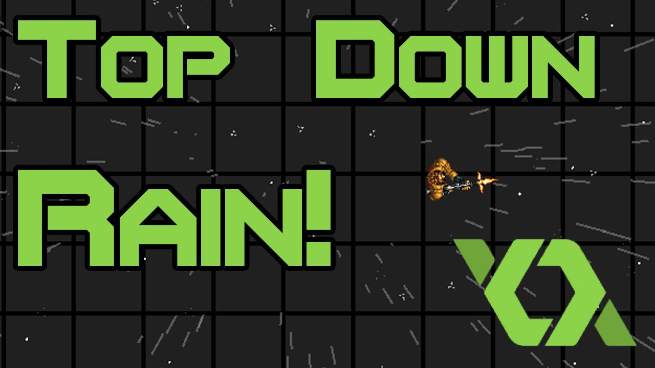 Top down rain effect game maker tutorial with download for View maker