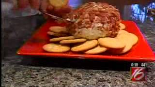 Chef Becky's Bowl Game Snacks:  Fiesta Layered Dip & Bacon Blue Cheese Ball