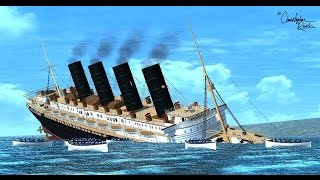 LUSITANIA (BASED ON 2007 THEORY) SINKING!