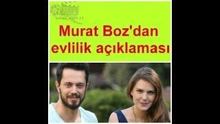 Murat Boz'dan Şok Evlilik Açıklaması