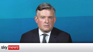 Shadow Health Jonathan Ashworth says that the government is being 'complacent'