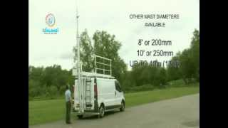 Universal Fast Mast System | Vehicle Mounted Mast | Total Mast Solutions