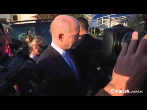 We must intensify pressure on Syria-William Hague