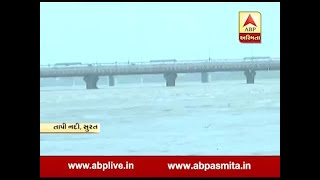 Heavy rains in South Gujarat, Tapi river of Surat overflow