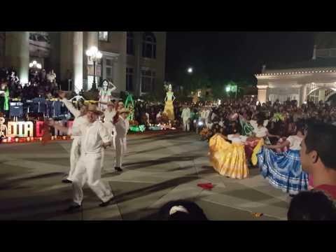Ballet folklorico mexico vivo Dia de Los muertos redwood city ca 2016