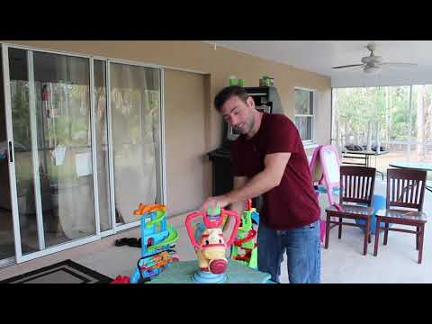 Controlling A Video Game With A Fisher Price Toy Horse And A Wii Controller Main Channel