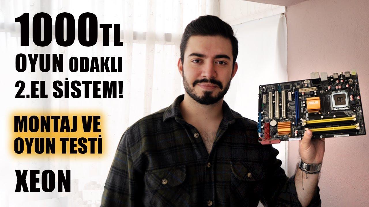 1000 TL BÜTÇE İLE İKİNCİ EL OYUN BİLGİSAYARI TOPLAMA! (MONTAJ VE OYUN TESTİ)