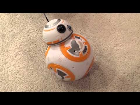 Star Wars Force Awakens BB-8 review with Kiera