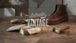 Pepe Jeans Footwear - Authentic Vintage Boot Care Kit