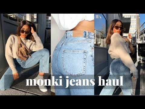 TESTING JEANS | MONKI DENIM TRY ON HAUL | SARAHJOHOLDER