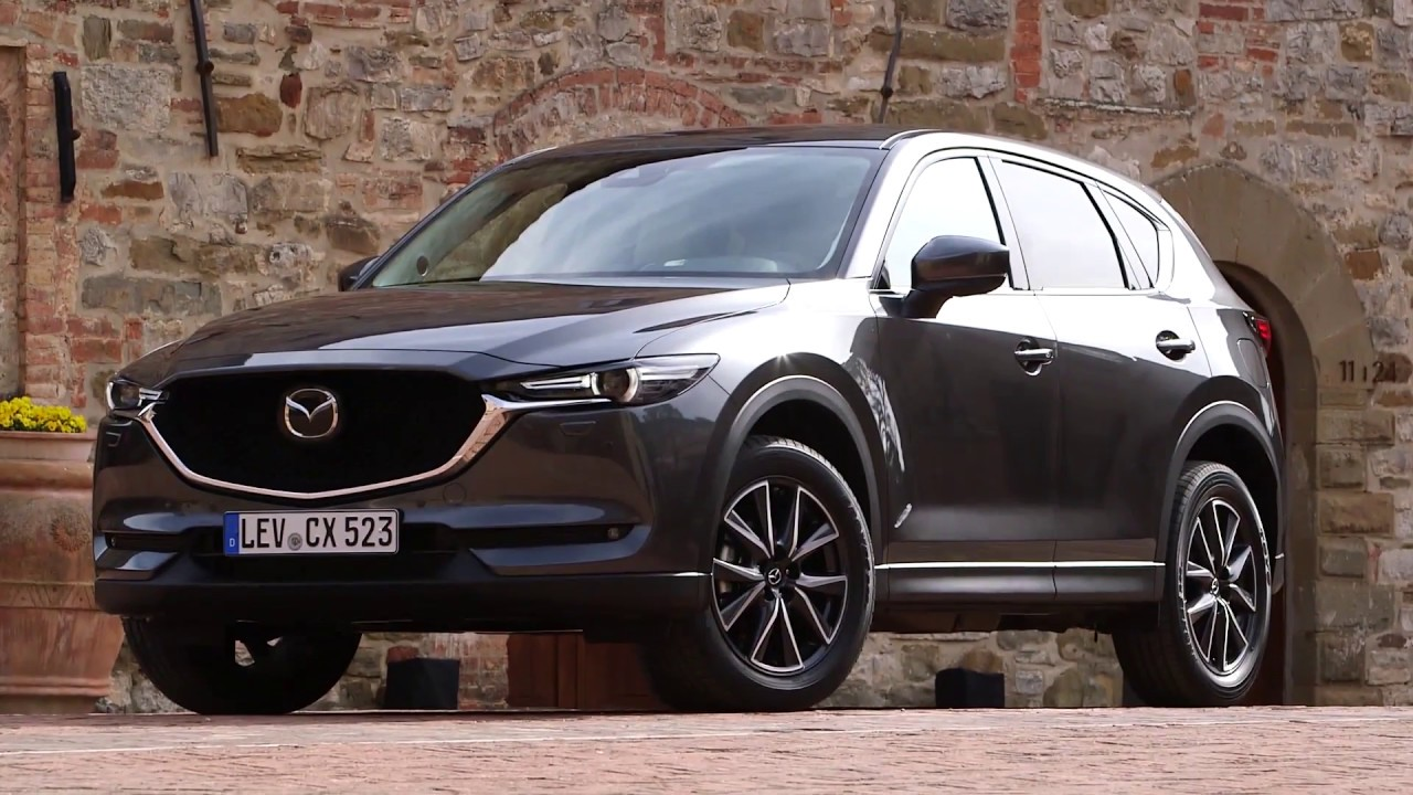 mazda cx 5 machine grey metallic
