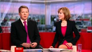 Sian Williams Leaves Breakfast - The team say good bye at 8:24