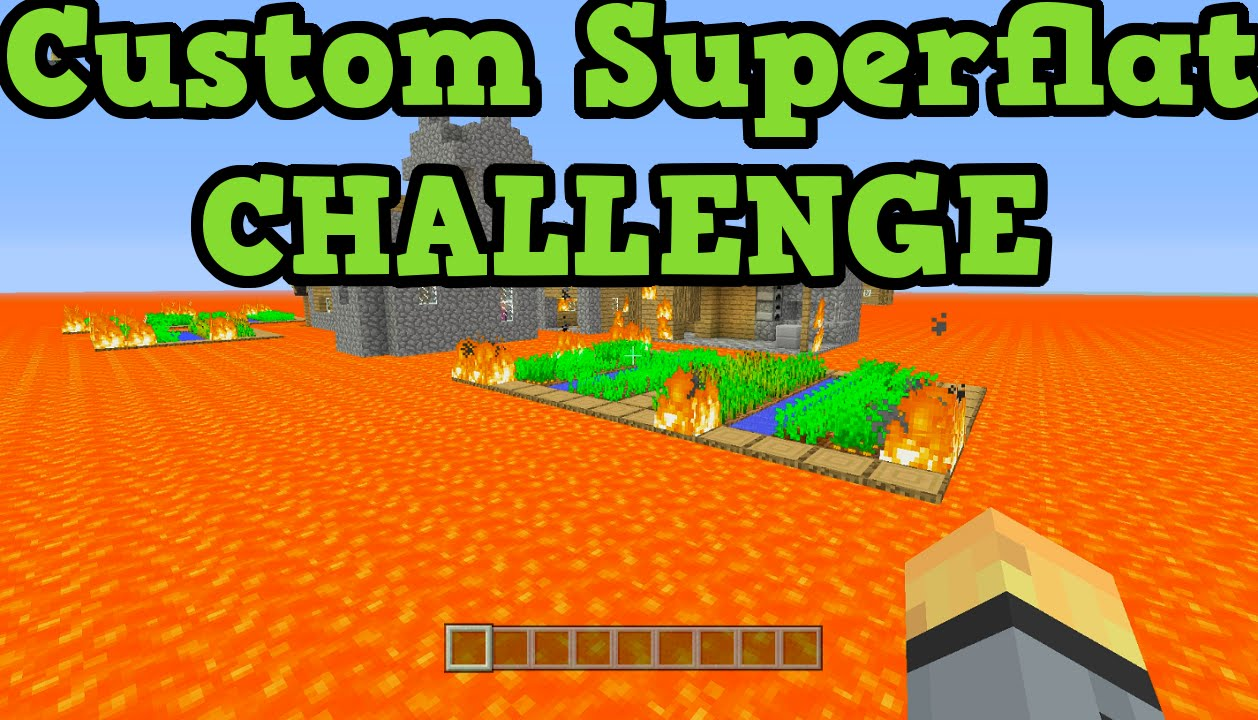 Minecraft xbox one ps4 tu25 custom superflat survival live youtube gumiabroncs Image collections