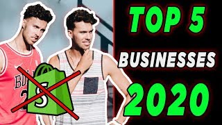 Top 5 BEST Online Businesses For Beginners in 2020 (#1 Will Shock You!)