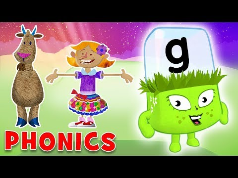 Phonics - Learn to Read | The Letter 'G'