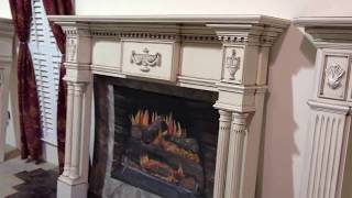 The Lewisburg Mantel (glazed Antique Finish) - Custom Fireplace Mantels