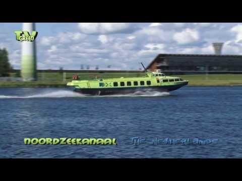 Scheepvaart Noordzeekanaal - North Sea Canal shipping, The Netherlands