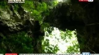 Sa loob ng makasaysayang Tabon Cave, Palawan