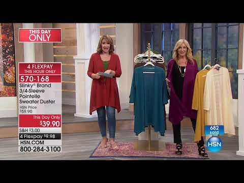 HSN | Slinky Brand Fashions . http://bit.ly/2XkpfUi